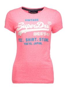g10022xn superdry t-shirt snowy fluro