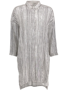 InWear Tuniek Galetta Long Shirt 30101824 11084 Hand Drawn Stripes White