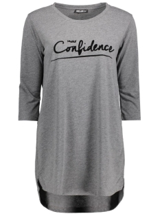 Juul & Belle T-shirt CONFIDENCE TEE Antraciet