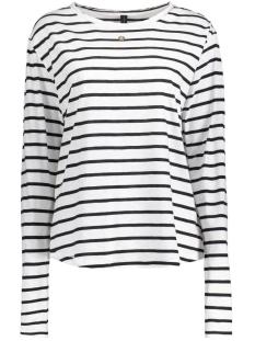 10 Days T-shirt 20-772-7101 ECRU/BLACK