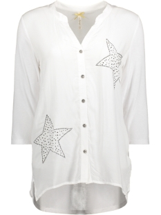 Key Largo Blouse WB00010 WHITE