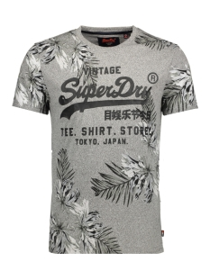 Superdry T-shirt M10008FO SURF STORE TEE QOG GREY GRIT