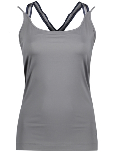 Sylver Top 504-254 Middle Grey
