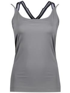 Sylver Top 504-254 Middle Grey