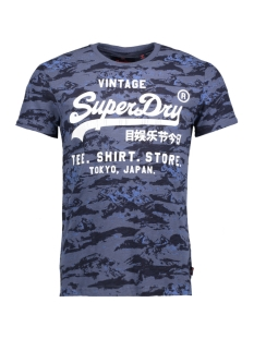 Superdry T-shirt M10006PP FDO (Midnight Indigo)