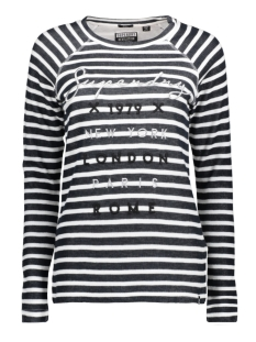 Superdry T-shirt G60001PQ JKC (Navy Stripe)