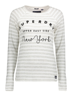 Superdry T-shirt G60001PQ OG5 (Pacific Grey Marl Stripe)