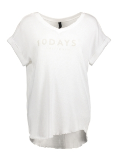 10 Days T-shirt 20-754-8101 WHITE