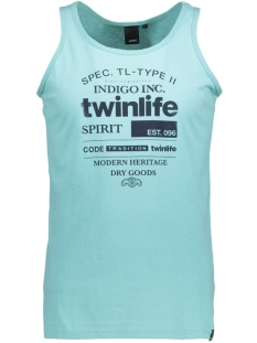 Twinlife T-shirt MSI811584 6005 Aqua Sea