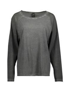 Black T-shirt 181.24.02 COLD DYE GREY