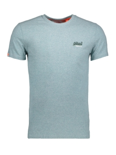 Superdry T-shirt M10007TQ Mint Green Grit(XV8)