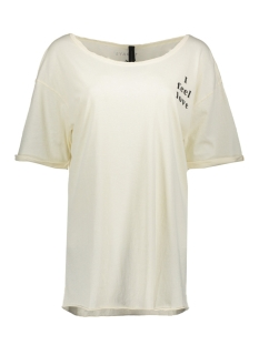 10 Days T-shirt 20-752-8101 WHITE WOOL