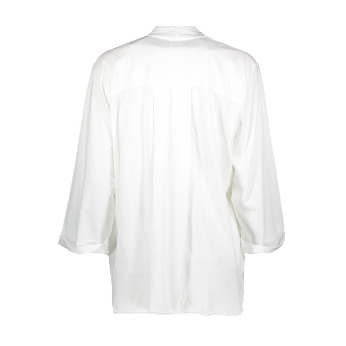 204028103 10 days blouse white
