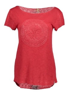Key Largo T-shirt WT00084 WT JANET ROUND 1300 Red