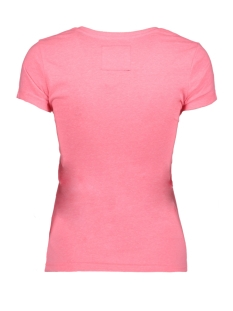 g10016ns superdry t-shirt neon pink snowy