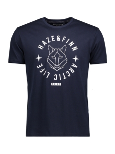 Haze & Finn T-shirt MU100007 NAVY