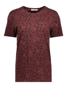Circle of Trust T-shirt W18_32_3580 BURNT BORDEAUX