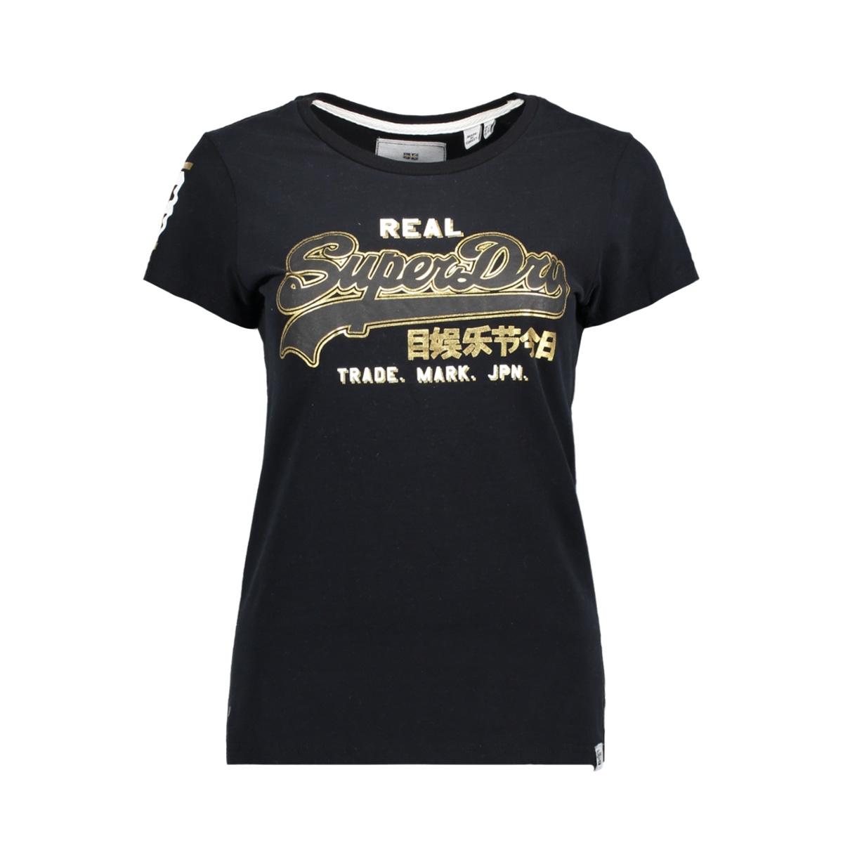 g10012yr superdry t-shirt black