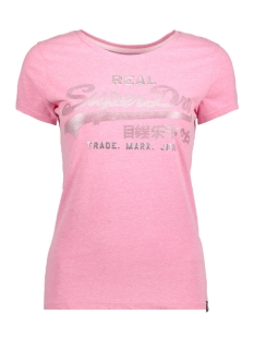 Superdry T-shirt G10011KR ACTIVE PINK MARL