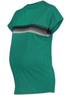 SuperMom Positie shirt S0891 TEE SS STRIPE C174 BRIGHT GREEN