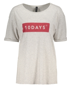 10 Days T-shirt 207408104 LIGHT GREY MELEE