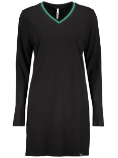 Zoso T-shirt SPORTY PRINTED LONG T SHIRT BLACK/GREEN