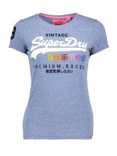 Superdry T-shirt G10009TR CALI BLUE SNOWY UM0