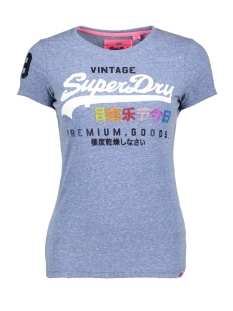 Superdry T-shirt G10009TR UM0 Cali Blue Snowy