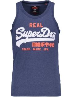Superdry T-shirt M60004AOD1 PRINCETON BLUE MARL