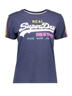 Superdry T-shirt G10139TT PRINCEDOM BLUE MARL