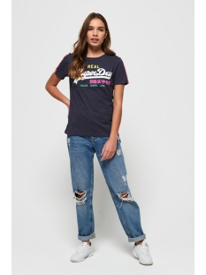 g10139tt superdry t-shirt princedom blue marl