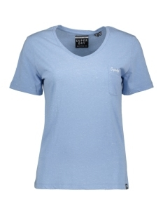 Superdry T-shirt G60111MT CRUZ BLUE