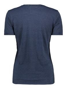 g10350tt vintage logo sparkle st superdry t-shirt eclipse navy/silver sparkle