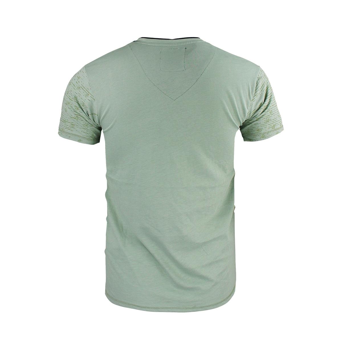 15127 gabbiano t-shirt green