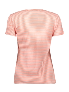 g10657nt superdry t-shirt optic/ fusion coral stripe