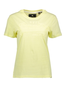Superdry T-shirt G10990NT WAX YELLOW