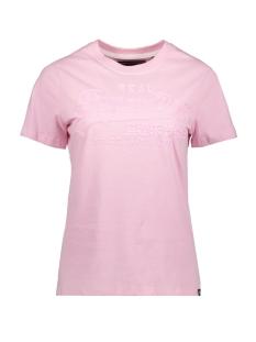 Superdry T-shirt G10990NT FONDANT PINK