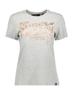 Superdry T-shirt G10137TT GREY HEATHERED