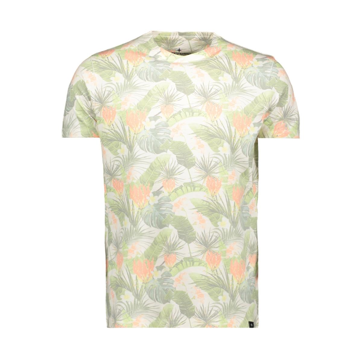tee sublimation print mu11 0002 haze & finn t-shirt white jungle