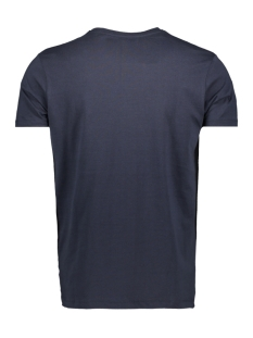 me 0018 tee logo circle haze & finn t-shirt navy