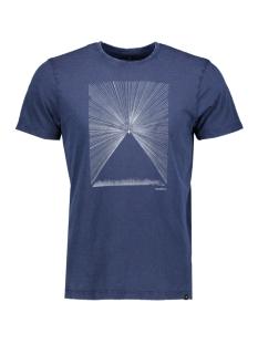 Haze & Finn T-shirt TEE STARLIGHT MU11 0006 DARK INDIGO