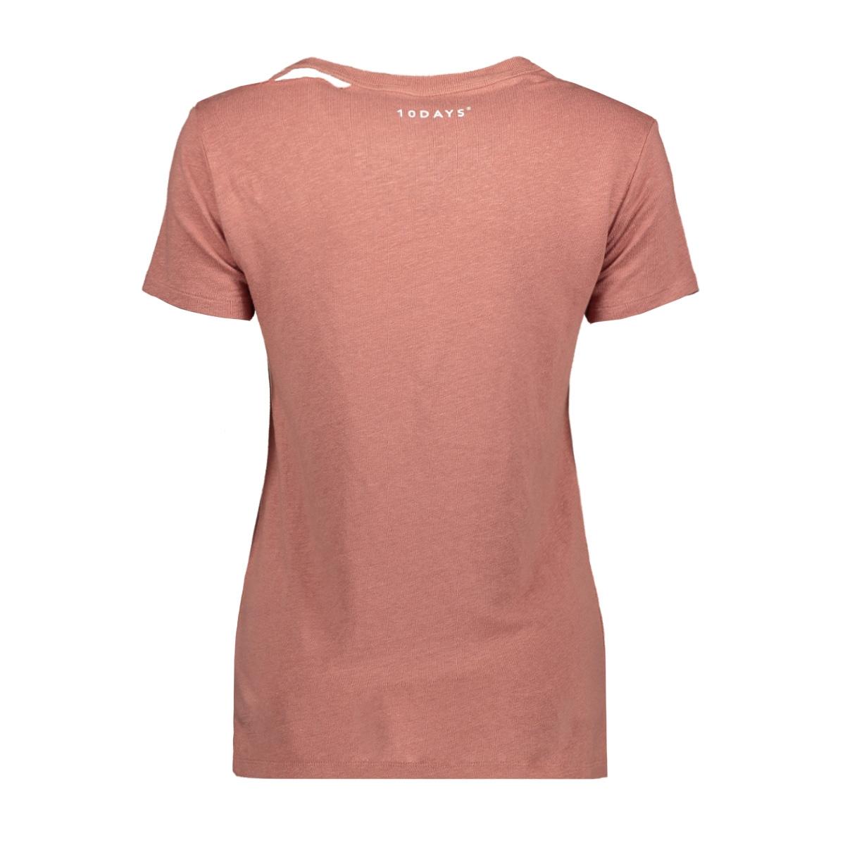 20 752 9101 10 days t-shirt rose