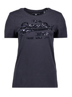 g10158yt superdry t-shirt eclipse navy
