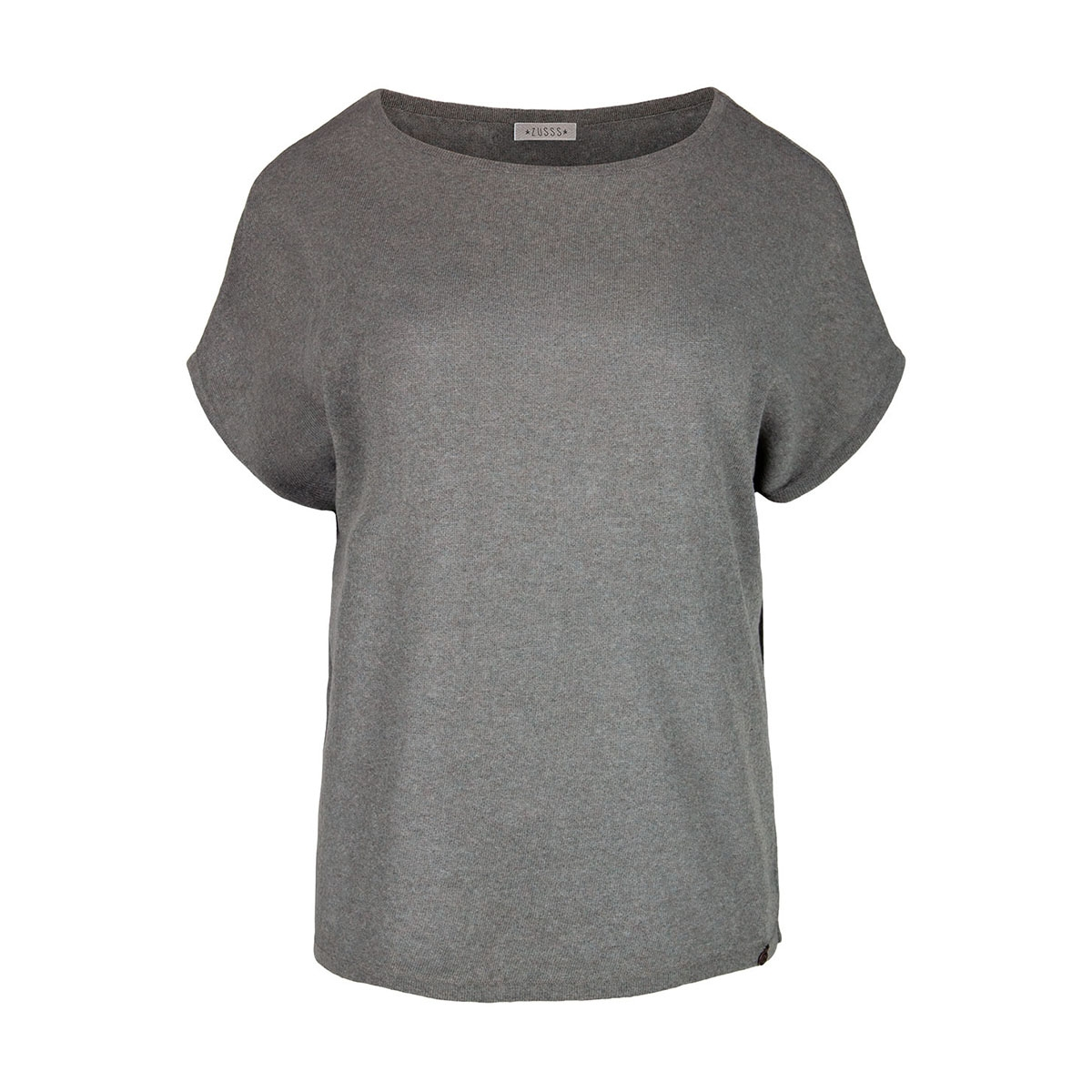 03ft19vagg zusss t-shirt grijs-groen