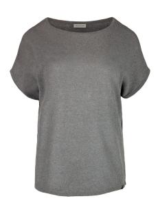 Zusss T-shirt 03FT19vAgg grijs-groen
