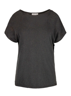 Zusss T-shirt 03FT19vCob OFF-BLACK