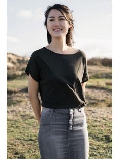 03ft19vcob zusss t-shirt off-black