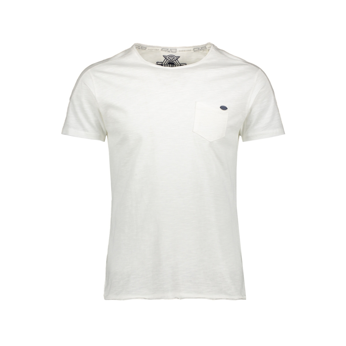 15130 t shirt gabbiano t-shirt ecru