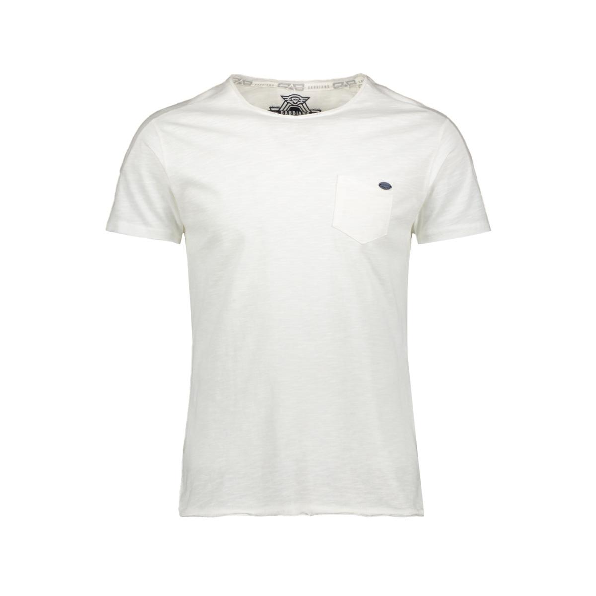 t shirt shortsleeve 15130 gabbiano t-shirt ecru