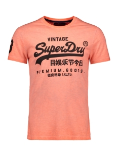Superdry T-shirt PREMIUM GOODS MID WEIGHT AOP TEE M10109YT WORN ORANGE